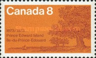 [The 100th Anniversary of Prince Edward Island's Entry into the Confederation, Typ PW]