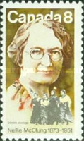 [The 100th Anniversary of the Birth of Nellie McClung, Feminist, Typ QA]