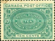 [Special Delivery Stamps, Typ R1]