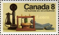 [The 100th Anniversary of the Invention of the Telephone by Alexander Graham Bell, Typ RK]