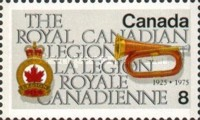 [The 50th Anniversary of Royal Canadian Legion, Typ TH]