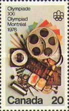 [Olympic Games - Montreal, Canada, Typ TM]