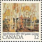 [The 100th Anniversary of the Birth of Tom Thomson, Painter, Typ UX]
