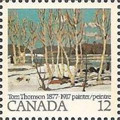 [The 100th Anniversary of the Birth of Tom Thomson, Painter, Typ UY]