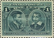 [The 300th Anniversary of the Founding of Quebec, Typ W]
