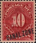 [US Postage Due Stamps Overprinted