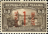[Panama Postage Due Stams Surcharged, Typ C]