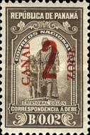 [Panama Postage Due Stams Surcharged, Typ C2]
