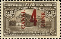 [Panama Postage Due Stams Surcharged, Typ C3]