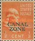 [US Postage Stamps Overprinted, Typ AC]