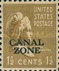 [US Postage Stamps Overprinted, Typ AC1]