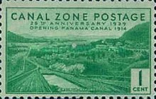 [The 25th Anniversary of the Opening of Panama Canal, Typ AK]
