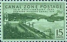 [The 25th Anniversary of the Opening of Panama Canal, Typ AV]