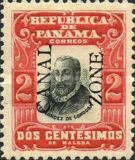 [Panama Postage Stamps Overprinted, type F1]