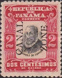 [Panama Postage Stamps Overprinted, type F2]