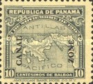 [Not Issued Stamps Stamps from Panama Overprinted, type I]