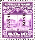 [The 100th Anniversary of the Independence from Spain - Panama Postage Stamps Overprinted