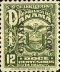 [Not Issued Panama Postage Stamps Overprinted, Typ M2]