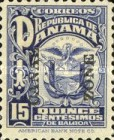 [Not Issued Panama Postage Stamps Overprinted, Typ M3]