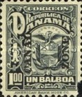 [Not Issued Panama Postage Stamps Overprinted, Typ M6]