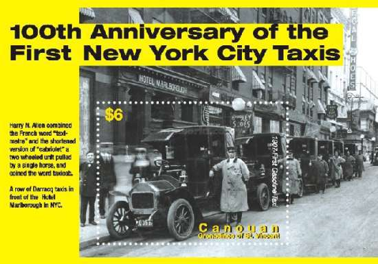 [The 100th Anniversary of Taxi Service, Typ ]