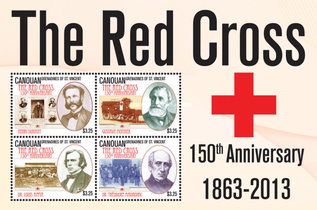 [The 150th Anniversary of The Red Cross, Typ ]