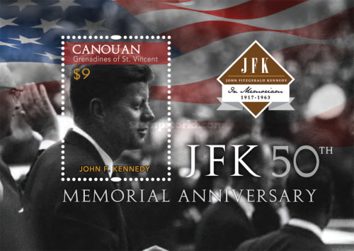 [The 50th Anniversary of the Death of John F. Kennedy, 1918-1963, Typ ]