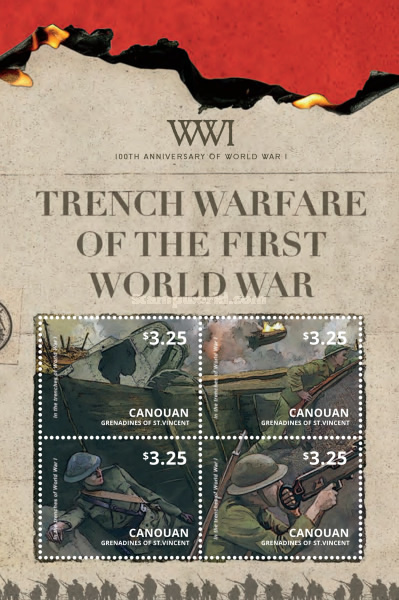 [The 100th Anniversary of the beginning of World War I - Trench Warfare, Typ ]