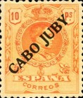 [Spanish Stamps Overprinted