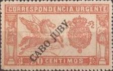 [Spanish Special Delivery Stamp Overprinted