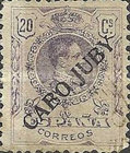 [King Alfonso XIII - Spanish Postage Stamps Overprinted