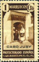 """[Spanish Morocco Postage Stamps Overprinted """"CABO JUBY"""", Typ S]"""