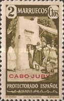 """[Spanish Morocco Postage Stamps Overprinted """"CABO JUBY"""", Typ S1]"""