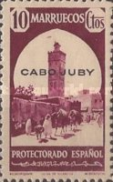 """[Spanish Morocco Postage Stamps Overprinted """"CABO JUBY"""", Typ S3]"""