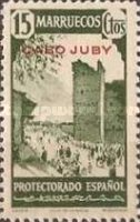 """[Spanish Morocco Postage Stamps Overprinted """"CABO JUBY"""", Typ S4]"""