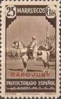 """[Spanish Morocco Postage Stamps Overprinted """"CABO JUBY"""", Typ S6]"""