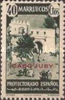 """[Spanish Morocco Postage Stamps Overprinted """"CABO JUBY"""", Typ S8]"""