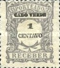 [Numeral Stamps - Value in Centavos, type C1]