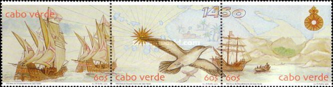 [The 500th Anniversary of the Discovery of Cape Verde, type ]