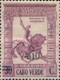[Previous Issues of 1934 and 1938 of Angola Surcharged, type AB4]