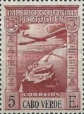 [Airmail - Previous Issues of 1938 of Angola Overprinted