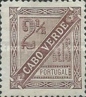 [Numeral Stamp, Typ C1]