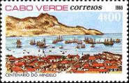 [The 100th Anniversary of Mindelo City, Typ EV]