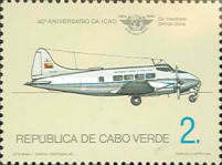 [The 40th Anniversary of ICAO, Typ HV]