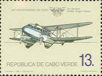 [The 40th Anniversary of ICAO, Typ HX]