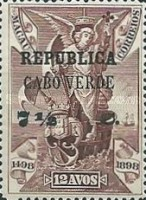 [Vasco da Gama Issue - Macao Postage Stamps Surcharged, Typ M5]