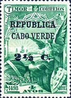 [Vasco da Gama Issue - Timor Postage Stamps Surcharged, Typ O3]