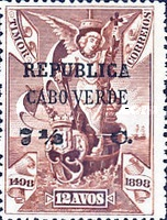 [Vasco da Gama Issue - Timor Postage Stamps Surcharged, Typ O5]