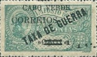 [War Tax Stamps of Portuguese Africa Surcharged, type U]