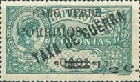 [War Tax Stamps of Portuguese Africa Surcharged, type U1]
